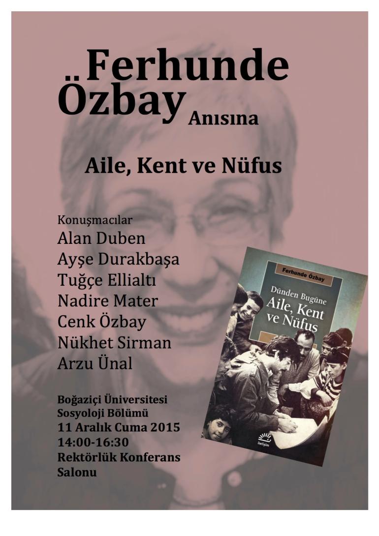 Ferhunde Ozbay'in Anisina